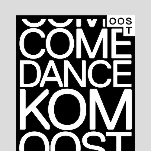 OOST typographic poster design